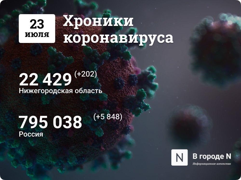 Хроники коронавируса: 23 июня, Нижний Новгород и мир - фото 1